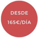 Preço desde 165 euros